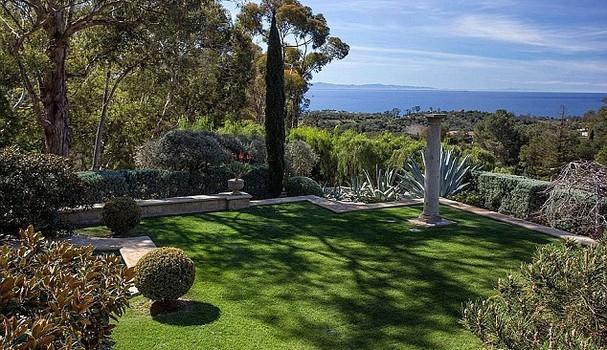 Mansão de Ellen DeGeneres em Montecito (Foto: Reprodução)
