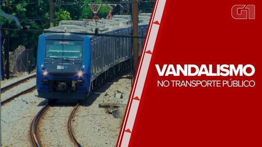 Vandalismo dá prejuízo de aproximadamente R$ 7 milhões ao transporte público