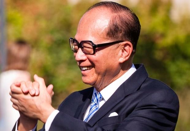 Li Ka-Shing, um dos homens mais rico da Ásia (Foto: Wikimedia Commons/ EdTech Stanford University School of Medicine)