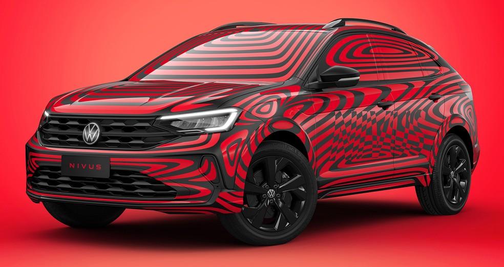 Volkswagen Nivus chegará ainda no primeiro semestre — Foto: Divulgação/Volkswagen