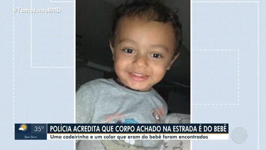Corpo é achado na Bahia e polícia suspeita que seja de criança que foi morta pelo pai no Distrito Federal