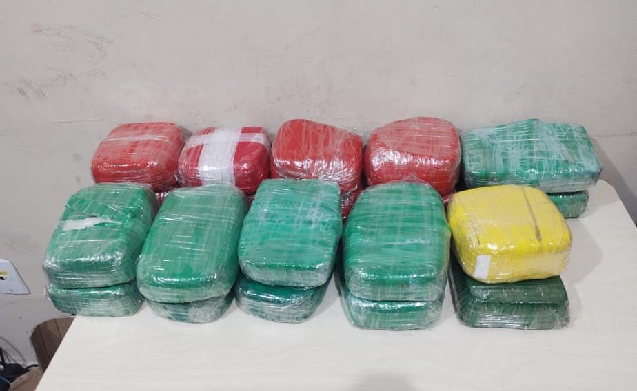 Cerca de 20 kg de drogas são apreendidos dentro de navio em Belém
