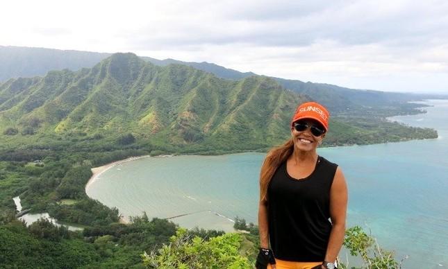 Marjorie Mariano mora no Havaí em anos