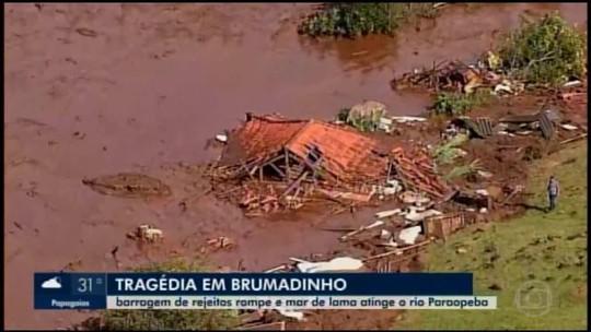 Municípios banhados pelo Rio Paraopeba monitoram possíveis impactos do rompimento de barragem em Brumadinho