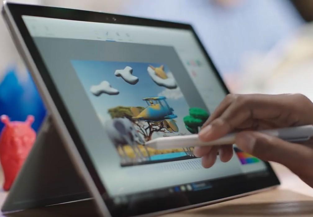 Nova versão do paint para Windows 10 (Foto: Divulgação)