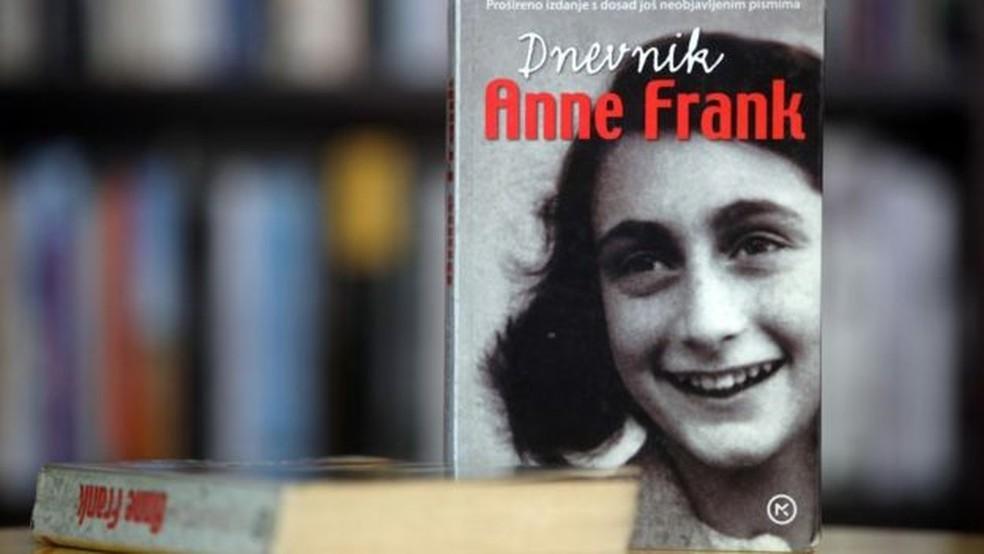 O diário de Anne Frank é um dos livros mais famosos e vendidos de todos os tempos. — Foto: Getty images via BBC