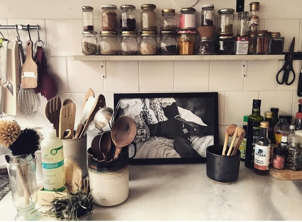 A cozinha de Paola Carosella (Foto: Instagram/Reprodução)