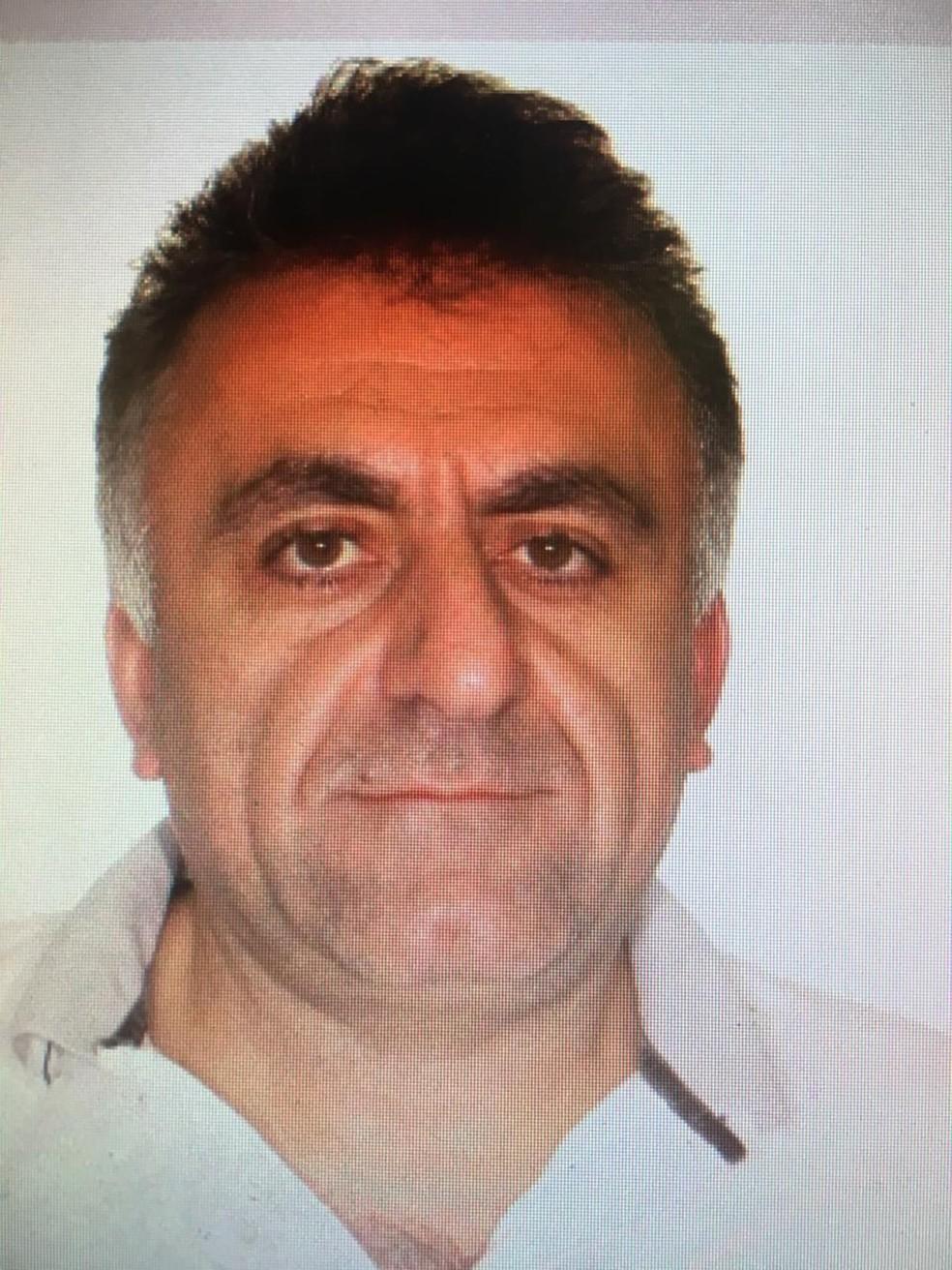Joseph Nour Eddine Nasrallah, conhecido como Sheik, preso em Campinas (SP) nesta sexta-feira (18) — Foto: Divulgação