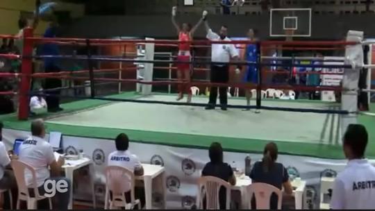 Suzany de Sá vence no MT e é a primeira roraimense campeã brasileira de boxe