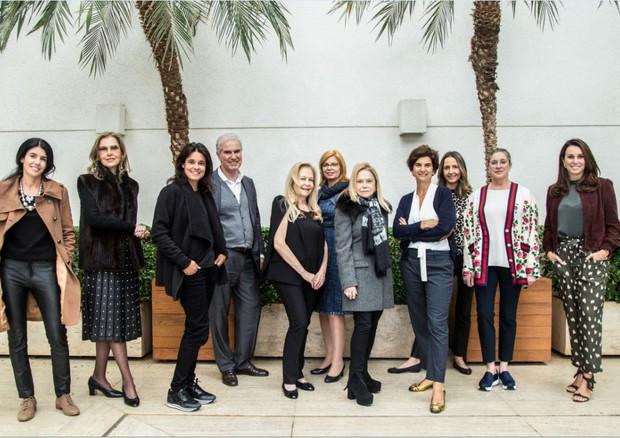 Comissão organizadora do evento (Foto: Victoria Negreiros)