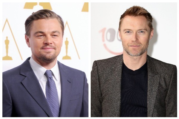 Leonardo DiCaprio e Ronan Keating (Foto: Getty Images)