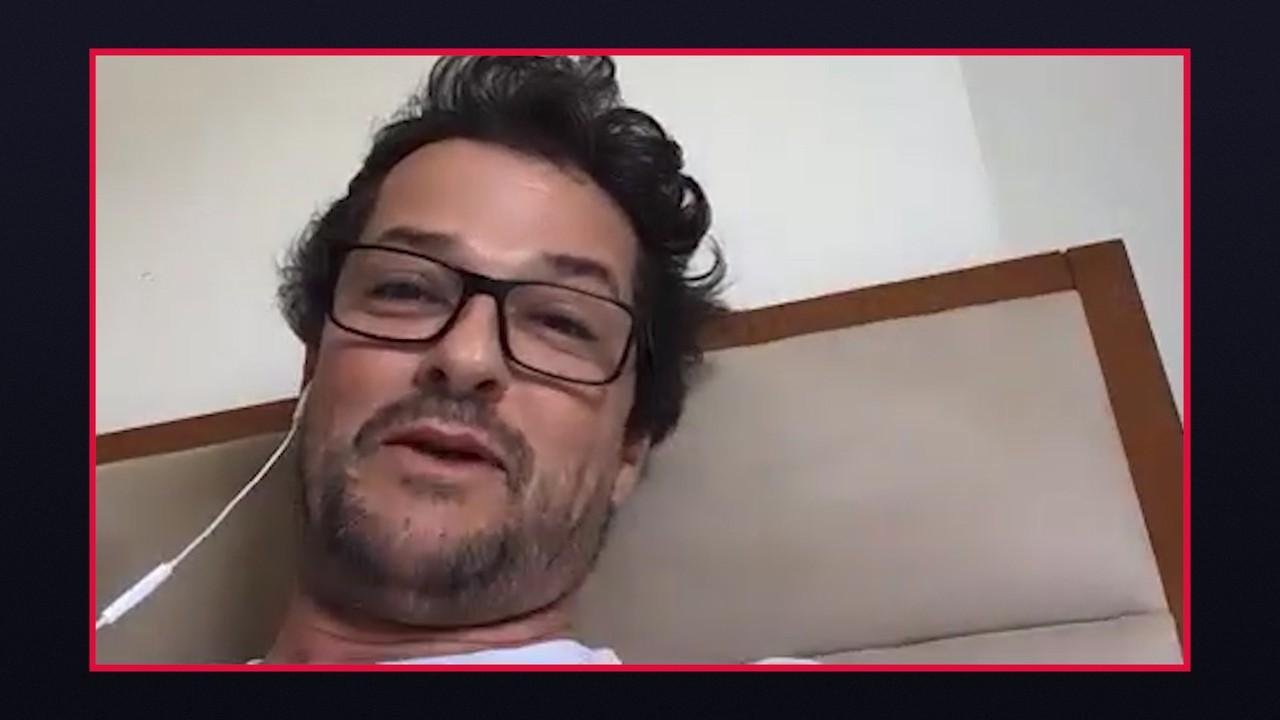 Marcelo Serrado fala do 'sufoco' para gravar com Sophie Charlotte em Fina Estampa