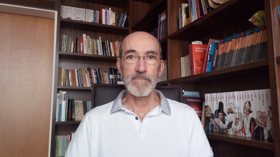 Sinézio Inácio da Silva Júnior, professor de epidemiologia e saúde coletiva, destaca efeitos da onda roxa no Sul de Minas — Foto: Arquivo Pessoal