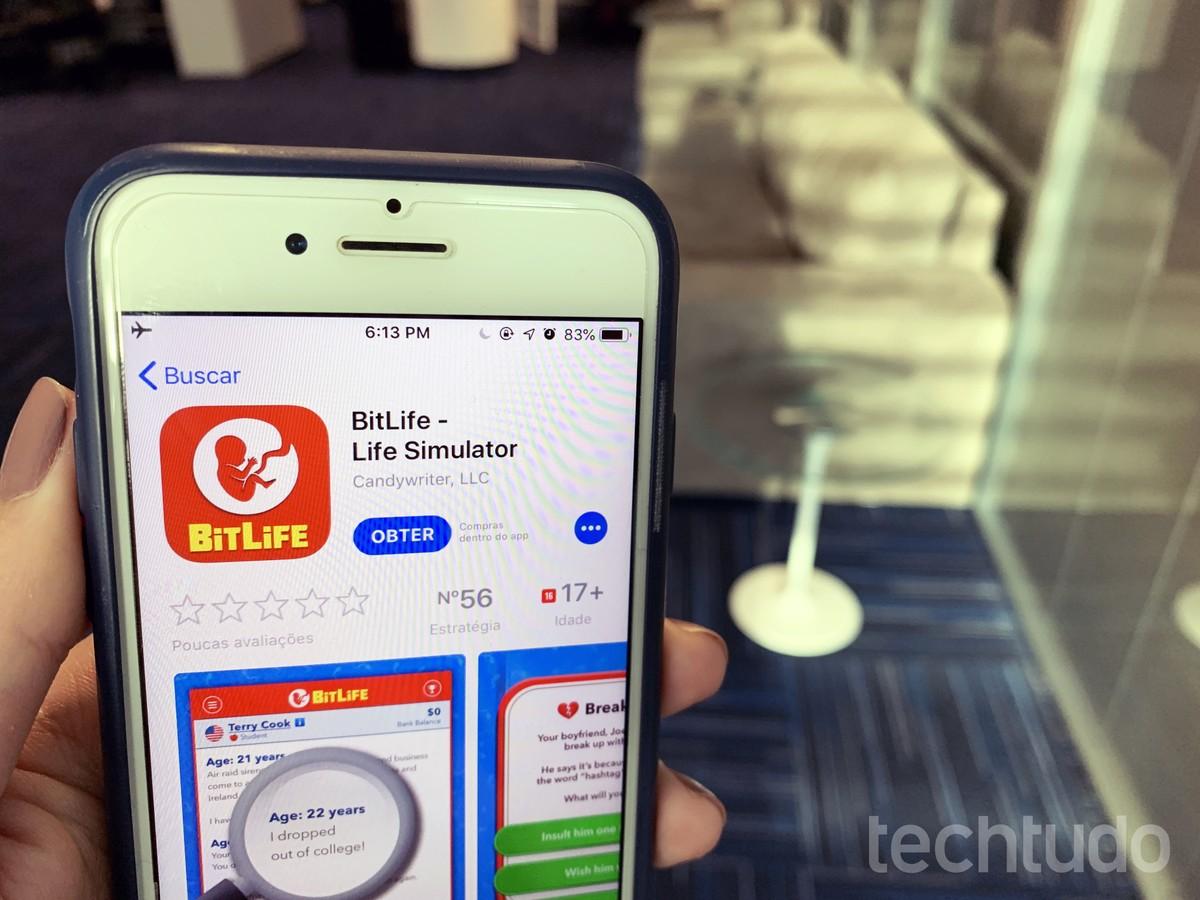 Tem Na Web - Conheça o BitLife, app que simula a vida real e é sucesso nos EUA