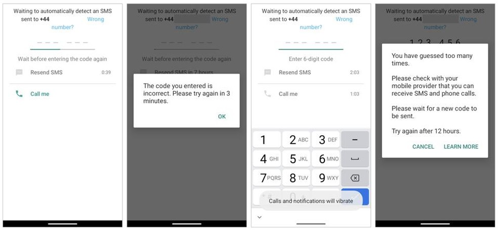 WhatsApp bloqueia novas tentativas de acesso nas próximas 12 horas — Foto: Reprodução/Forbes