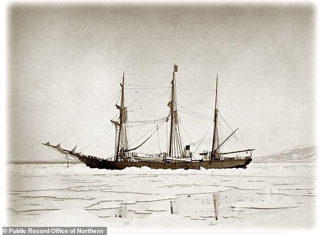 Embarcação foi encontrada a 19 metros de profundidade (Foto: Public Record Office of Northern Ireland)