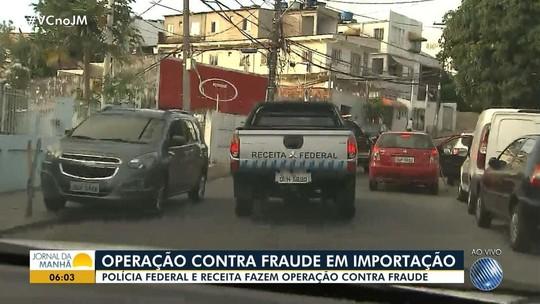 Operação combate fraude em importação no valor de R$ 393 mi