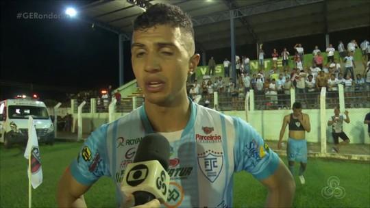 Com 1 gol de Morosini, Ji-Paraná, garante vaga na final do Campeonato Rondoniense