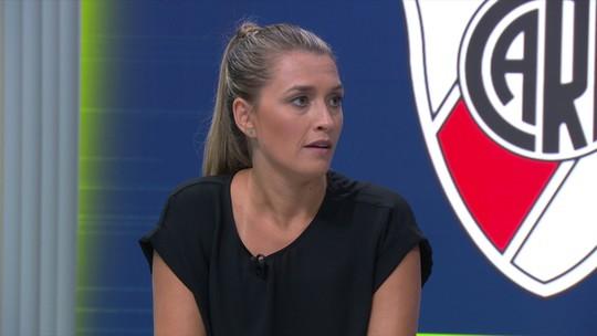 """Ana Thaís Matos diz que """"medo de perder"""" ditará o ritmo da final da Libertadores neste domingo"""