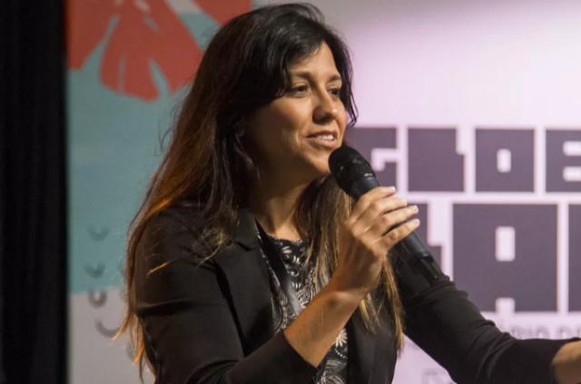 Patrícia Moretzsohn (Foto: Marília Cabral/TV Globo)