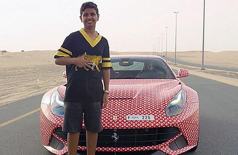 Rashed Saif Belhasa é filho de um bilionário de Dubai (Foto: Reprodução/Instagram/rsbelhasa)