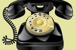 Toque de telefone antigo