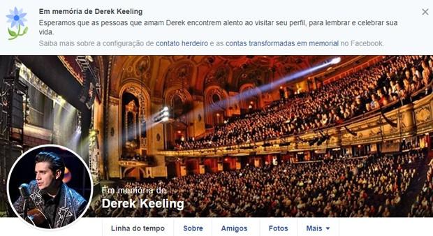 Derek Keeling (Foto: Divulgação)