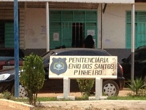 Penintenciária Estadual Ênio Dos Santos Pinheiro em Porto Velho (Foto: Hosana Morais/G1)