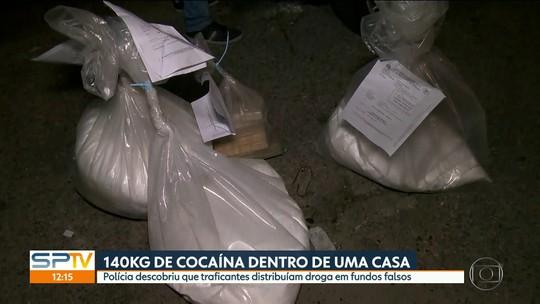 Polícia encontra 140kg de cocaína com traficantes de Arujá e região.