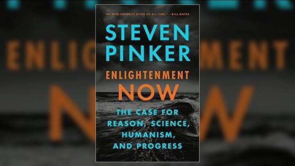 Steven Pinker's book defends optimism against chaos - Photo: globonews