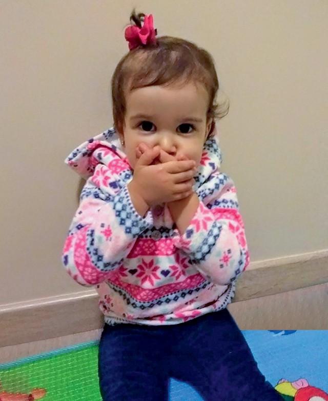 Maria Fernanda, 2 anos, filha de Andrea Lima (Foto: Maria Fernanda, 2 anos, filha de Andrea Lima (Foto: Arquivo pessoal))