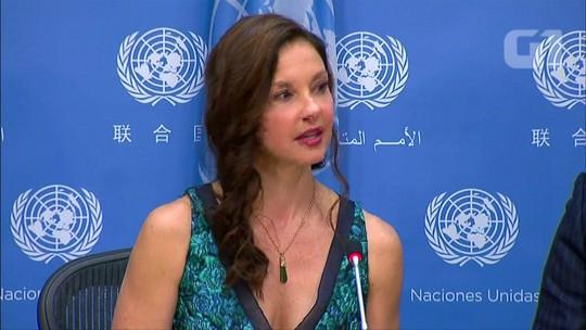 Ashley Judd é nomeada embaixadora da Boa Vontade da ONU