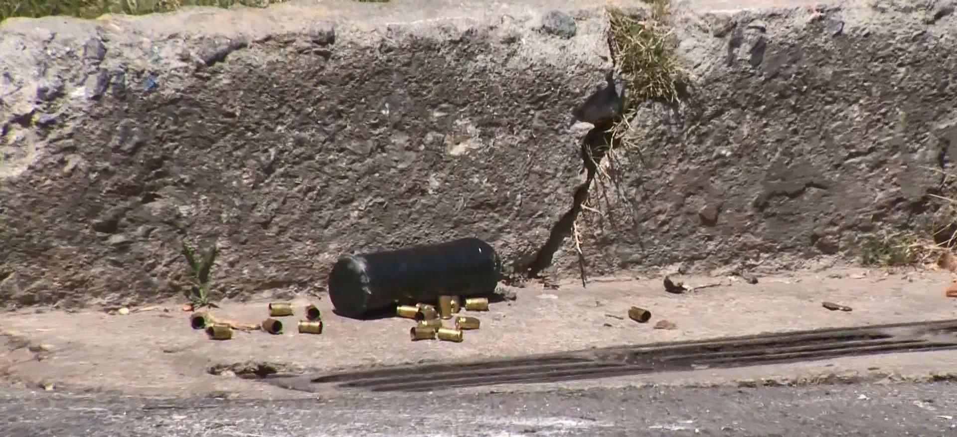 Bomba é detonada em Vitória após troca de tiros entre criminosos