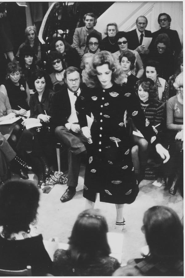 A coleção de alta-costura de verão 1971 (Foto: Musée Yves Saint Laurent)