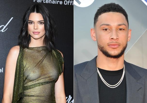 Kendall e o namorado (Foto: Getty Images)