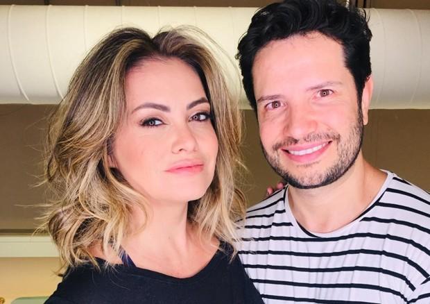 Renata Brás e Marcelo Brito (Foto: Divulgação)
