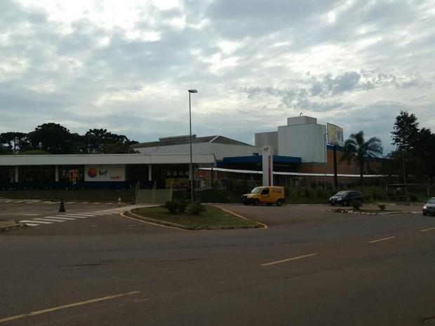 BRF em Ponta Grossa (Foto: Arquivo pessoal)