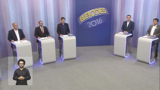 Candidatos à Prefeitura de Ribeirão Preto debatem propostas; veja íntegra