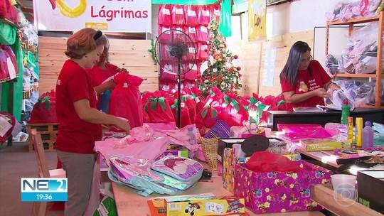 Voluntários se mobilizam para alegrar o Natal de quem não tem comida