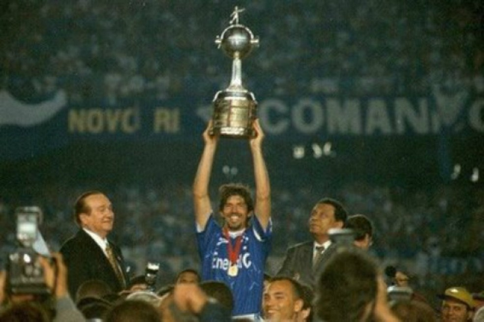 Wilson Gottardo, capitão do Cruzeiro na Libertadores de 1997  — Foto: Divulgação/ Cruzeiro