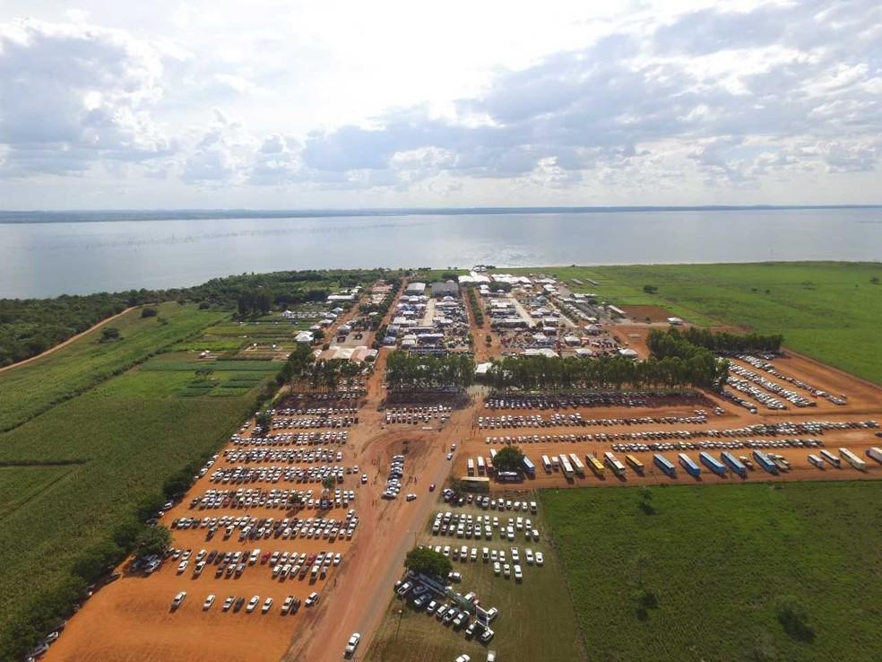 Centro agrotecnológico fica na TO-050 (Foto: Governo do Tocantins/Divulgação)