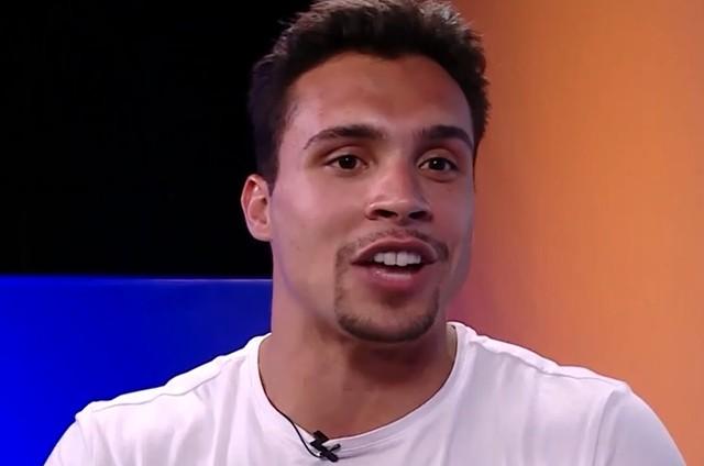 Petrix Barbosa, último eliminado do 'BBB 20' (Foto: Reprodução/TV Globo)