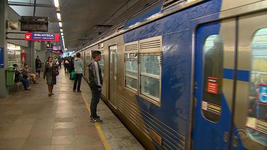 Queda de raio provoca fechamento de todas as estações da Trensurb
