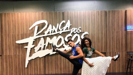 'Dança dos Famosos': confira como foi a preparação das mulheres para o rock