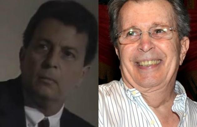 Daniel Filho interpretou Rubinho, ex-marido de Raquel (Regina Duarte) e pai de Maria de Fátima (Gloria Pires). Hoje diretor, ele comandou as filmagens de 'Sai de Baixo - O filme', previsto para 2019, e também atuou (Foto: Divulgação/ TV Globo)