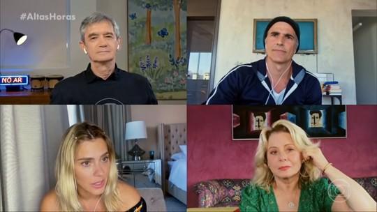 Carolina Dieckmann relembra promessa de Manoel Carlos após ela perder bebê: 'Vou escrever uma novela para você'