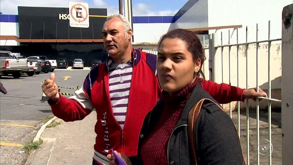 Pai e outra filha de gestante suspeitam de negligência médica em parto (Foto: Reprodução/TV TEM )