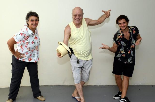 Isabella Secchin, Tonico Pereira e Fernando Bruno (Foto: Cristina Granato)
