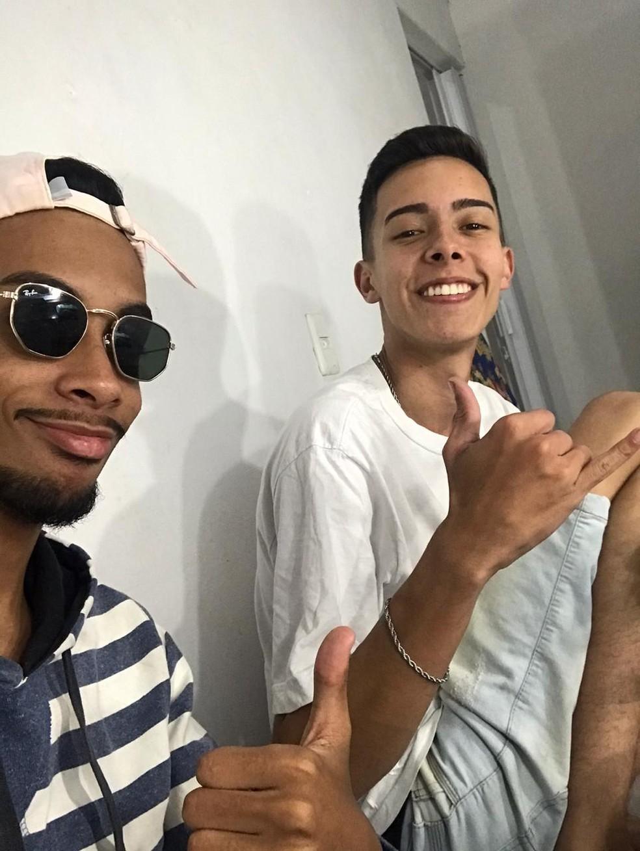 Wesley e Paulo Henrique, de Jundiaí (SP) eram amigos desde setembro de 2019 — Foto: Arquivo Pessoal