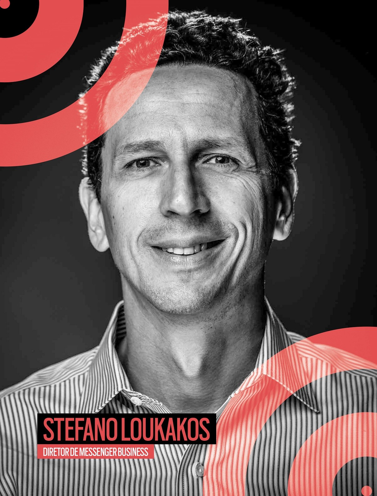Stefanos Loukanos, diretor do Messenger Business  (Foto: Divulgação)
